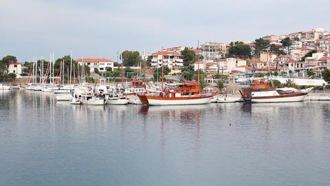 Neos Marmaras port Footage
