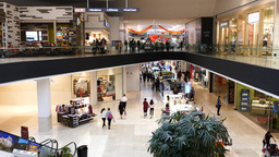 Shopping Mall Interior stock footage