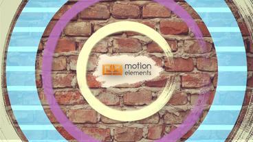 Cartoon Logo Apple Motion Template