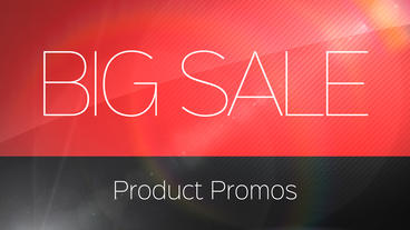 Big Sale Product Promos After Effects Template