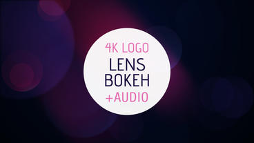 Lens Bokeh Logo Reveal After Effects Template
