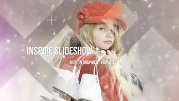 Inspire Slideshow stock footage