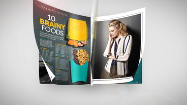 Short Magazine Promo After Effects Template