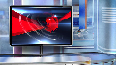 Virtual studio Newsroom C6 Live Action