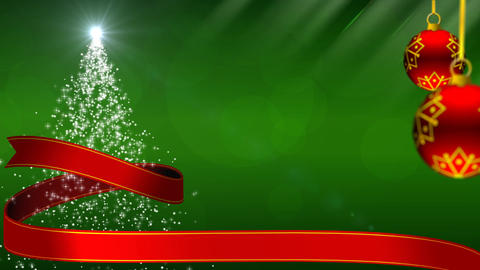 Merry Christmas!! green Animation