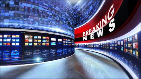 Breaking news set1 Footage