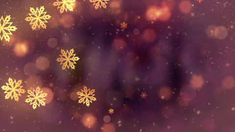 Christmas Falling snowflakes animation particles…, Stock Animation
