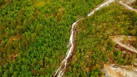 Norway. beautiful landscape of Norway. Troll Ladder Footage