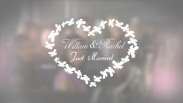 Unique Wedding Titles Pack After Effects Template