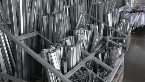 Metal profiles for plastic and metal windows Live Action