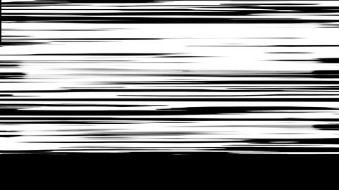 Abstract paint brush stroke. black and white transition background Footage