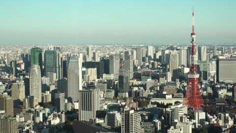 Japan Tokyo tower Footage