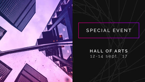Stylish Event Promo After Effects Template