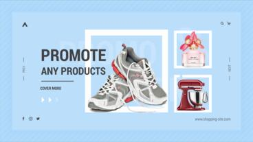 Online Shopping Promo After Effects Template