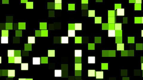 LED Light Block illumination Wall, Stock Animation