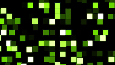 LED Light Block illumination Wall Stock Video Footage
