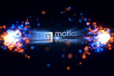 Particles Twist Logo After Effects Template
