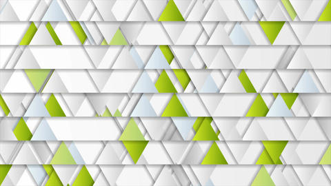 Triangles geometric tech abstract video animation Animation