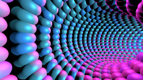 Flashing Light Tunnel Animation
