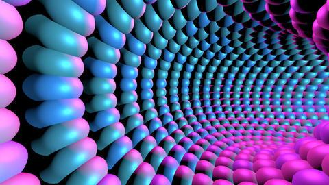 Flashing Light Tunnel Animation