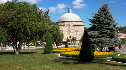 Hurrem Sultan Hamam in Sultanahmet, Istanbul. Turkey. 4K Footage