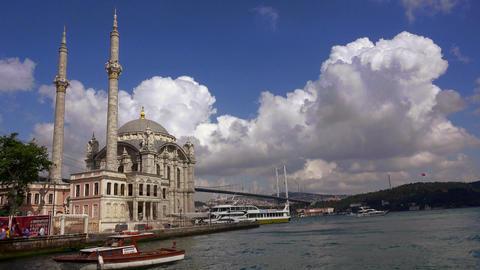 Ortakoy. Besiktas. Istanbul. Turkey. 4K Footage