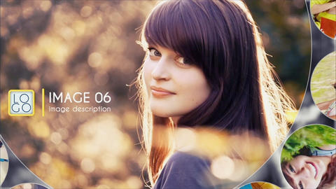 Circles Photo Slide Show After Effects Template