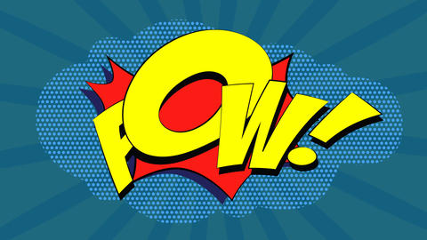 Wow! Pow! Oops! Animation