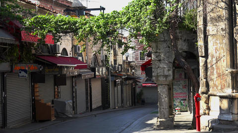 Istanbul. Old Istanbul. Architecture, old houses, streets and neighborhoods. Footage