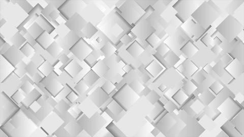 Abstract grey squares technology video animation Animation