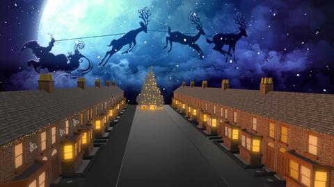 3D Happy Holidays Animation