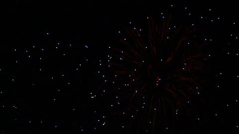 Fireworks celebration Footage