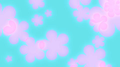 Pretty retro flowers Footage