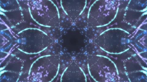 Strobing kaleidoscope Footage