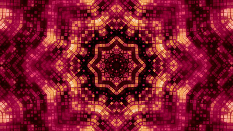 Strobing flower kaleidoscope Footage