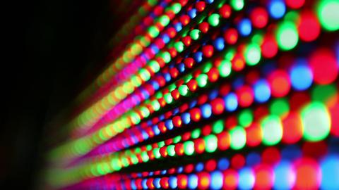 Flickering led Footage