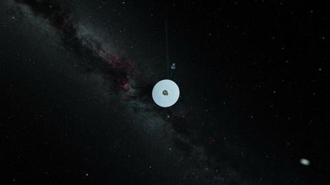 Satellite orbiting jupiter Footage
