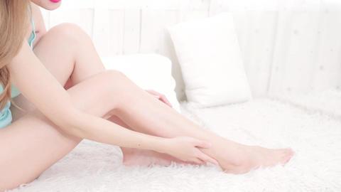 Woman Leg Care concept Live影片