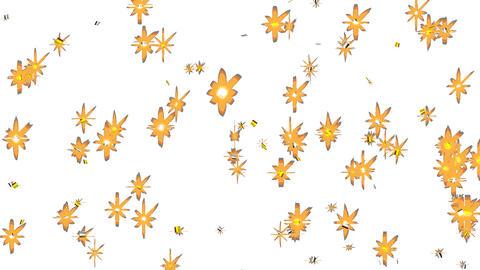 confetti (Gold and Silver) 02 Animation