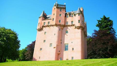 Craigievar Castle Footage