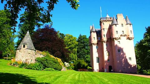 Craigievar Castle Live Action