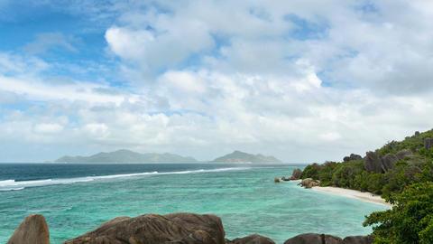 Anse Source D'Argent Timelapse, Seychelles Live Action