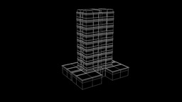 Building Nice Wireframe Animation 30FPS Animation