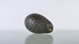Avocado fruit rotates Footage