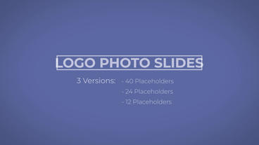 Logo Photo Slides After Effectsテンプレート