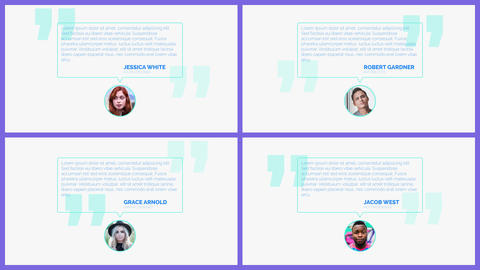 Opener Testimonials After Effects Template