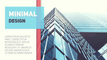 Abstract Simple Slideshow After Effects Template