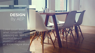Clean Abstract Corporate Promo After Effects Template