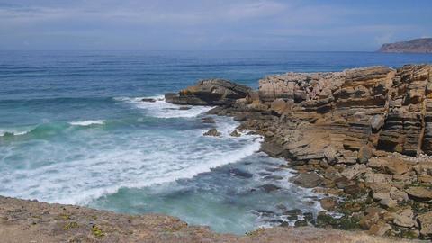 Stone ocean bay Footage