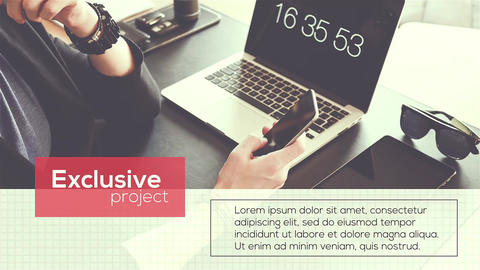 Simple Corporate Promo After Effects Template